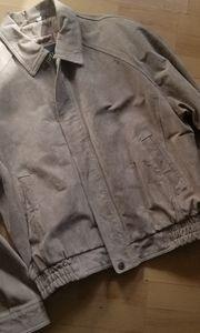 DANIER LEATHER Suede Jacket (Size L)